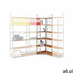 Modułowe regały biurowe - element narożny, czereśnia - ogłoszenia A6.pl