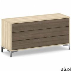 Komoda z 6 szufladami wood layers marki B2b partner - ogłoszenia A6.pl