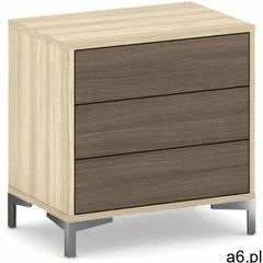 Komoda z 3 szufladami Wood LAYERS - ogłoszenia A6.pl