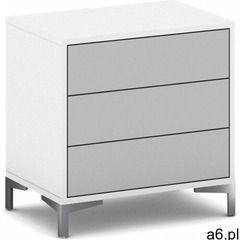 B2b partner Komoda z 3 szufladami gray layers - ogłoszenia A6.pl