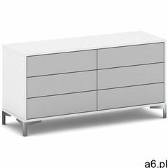 Komoda z 6 szufladami gray layers marki B2b partner - ogłoszenia A6.pl