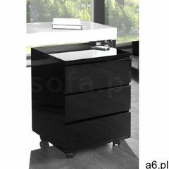 Sofa.pl Invicta kontenerek pod biurko deal - czarny - ogłoszenia A6.pl