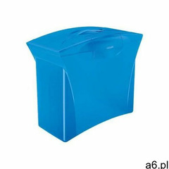 Walizeczka na teczki zawieszane europost vivida niebieska 623983 marki Esselte - ogłoszenia A6.pl
