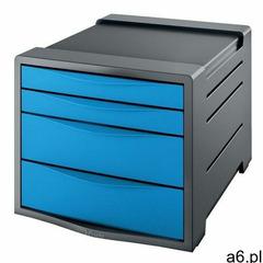 Leitz Pojemnik vivida z 4 szufladami niebieski 623961 - ogłoszenia A6.pl