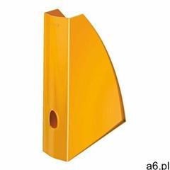 Pojemnik na dokumenty Leitz WOW Pomarańczowy, ES597-7 - ogłoszenia A6.pl