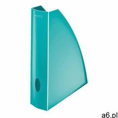 Pojemnik na dokumenty (czasopisma) Leitz WOW A4 lodowy niebieski (52771051) - ogłoszenia A6.pl