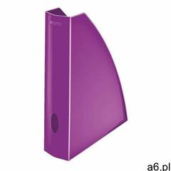 Pojemnik na dokumenty (czasopisma) Leitz WOW A4 fioletowy (52771062) (4002432104390) - ogłoszenia A6.pl