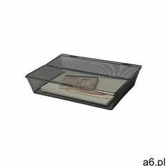 Pojemnik na dokumenty office set, metalowy, a4, zamykany, czarny marki Q-connect - ogłoszenia A6.pl