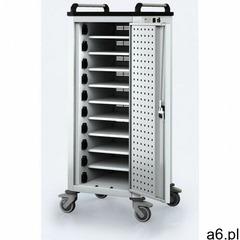 Wózek do ładowania laptopów/tabletów, 10 przegródek, szary/szary marki B2b partner - ogłoszenia A6.pl