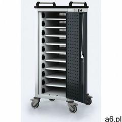 Wózek do ładowania laptopów/tabletów, 10 przegródek, szary/antracyt - ogłoszenia A6.pl