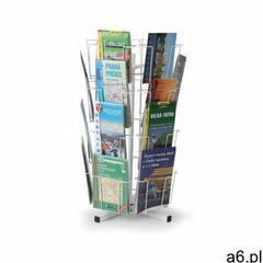 B2b partner Obrotowy stojak stołowy na kartki pocztowe, mapy, 24 kieszeni - ogłoszenia A6.pl