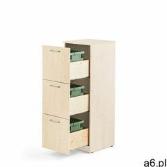 Aj produkty Szafka do segregacji śmieci fahrenheit, 3 szuflady, brzoza, 3 pojemniki 21 l - ogłoszenia A6.pl