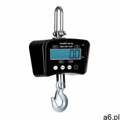 waga hakowa - 1 t / 0,2 kg - czarna sbs-kw-1000b - 3 lata gwarancji marki Steinberg systems - ogłoszenia A6.pl