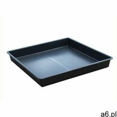 Taca ociekowa 100l (100 x 100 x 12 cm) czarny do 150 l. bez kratownicy 100 cm x 100 cm x 12 cm marki - ogłoszenia A6.pl