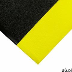 Orthomat mata piankowa-kamyczkowa 1,2 m x 18,3 m czarny/żółty marki Coba - ogłoszenia A6.pl