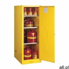 Justrite safety group Szafa bezpieczeństwa ( 204 l) - 1-drzwiowa żółty powyżej 200 l. 3 szt. manualn - ogłoszenia A6.pl