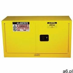 Szafa bezpieczeństwa na materiały łatwopalne (64 l) żółty do 100 l. automatyczne 61cm x 109cm x 46cm - ogłoszenia A6.pl