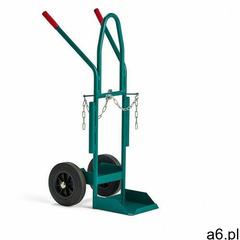 Aj produkty Wózek na butle z gazem, 420x1060x260 mm, koła z pełnej gumy - ogłoszenia A6.pl