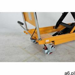 Hydrauliczny wózek z podwójnymi nożycami - max. wys. 1300mm marki Intra.se swedmach - ogłoszenia A6.pl
