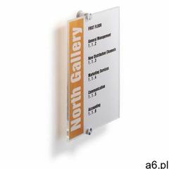 Tabliczka informacyjna DURABLE Cristal Sign 210x297mm 4825, 482519;482519 - ogłoszenia A6.pl