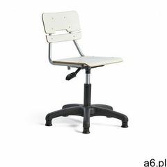 Krzesło legere, małe siedzisko, stopki, 400-520 mm, biały marki Aj produkty - ogłoszenia A6.pl