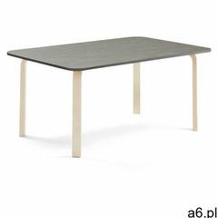 Stół elton, 1800x700x640 mm, ciemnoszare linoleum, brzoza marki Aj produkty - ogłoszenia A6.pl
