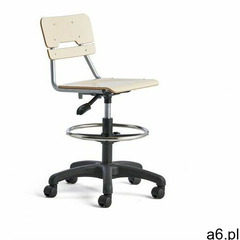 Aj produkty Krzesło legere, małe siedzisko, kółka, 530-720 mm, brzoza - ogłoszenia A6.pl