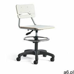 Aj produkty Krzesło legere, duże siedzisko, kółka, 530-720 mm, biały - ogłoszenia A6.pl