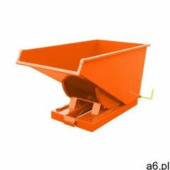 Wzmocniony kontener uchylny tippo hd 600 l. pomarańczowy marki Intra.se swedmach - ogłoszenia A6.pl
