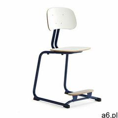 Krzesło szkolne yngve, płozy, kobaltowy, biały, 500 mm marki Aj produkty - ogłoszenia A6.pl