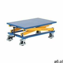 Stół podnośnikowy z korbą na kołach (blat 950x600 mm) marki Intra.se swedmach - ogłoszenia A6.pl