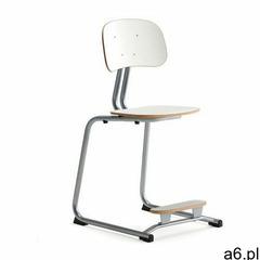 Aj produkty Krzesło szkolne yngve, płozy, srebrny, biały, 500 mm - ogłoszenia A6.pl