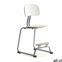 Aj produkty Krzesło szkolne yngve, płozy, srebrny, biały, 520 mm - ogłoszenia A6.pl
