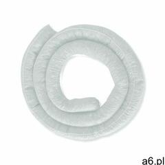 Ecotextil Rękawy sorbentowe olejowe, dł. 3,6m - 5 szt., chłonność 47 l. biały fi 7,7cm x 3,6m rękaw  - ogłoszenia A6.pl
