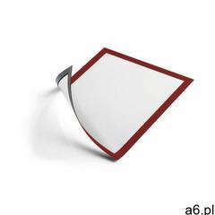 Ramka mag. DURABLE Duraframe A4 - czerwona 486903, 486903 - ogłoszenia A6.pl