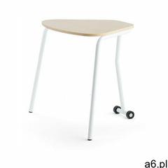 Aj produkty Stół składany hex, 740x800x620 mm, biały, brzoza - ogłoszenia A6.pl