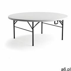 Okrągły, składany stół plastikowy mika, Ø1830 mm marki Aj produkty - ogłoszenia A6.pl