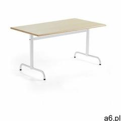Stół plural, 1400x700x720 mm, hpl, brzoza, biały marki Aj produkty - ogłoszenia A6.pl