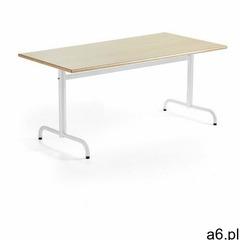 Aj produkty Stół plural, 1600x800x720 mm, hpl, brzoza, biały - ogłoszenia A6.pl
