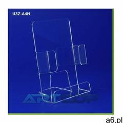 Stojak na ulotki ArtC A5 zamk. boki pion U3Z-A5M, U3Z-A5M - ogłoszenia A6.pl