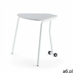 Stół składany HEX, 740x800x620 mm, biały, szary - ogłoszenia A6.pl