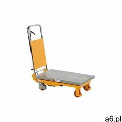 Wózek podnoszący hydrauliczny z blatem - 750kg marki Intra.se swedmach - ogłoszenia A6.pl