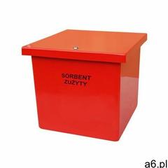 Pojemnik na sorbent, piasek, sól 65 l czerwony marki Abrys technika - ogłoszenia A6.pl