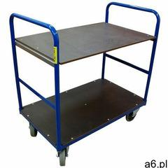 Wiz Wózek transportowy dwupółkowy 250 kg, 1000x600 - ogłoszenia A6.pl