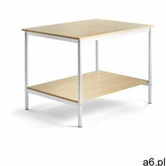 Stół roboczy, 1200x900x900 mm, brzoza, biały - ogłoszenia A6.pl