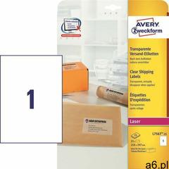 Etykiety AVERY ZWECKFORM bezb. 210x297 L7567 - ogłoszenia A6.pl