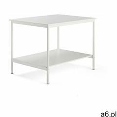 Stół roboczy, 1200x900x900 mm, biały, biały - ogłoszenia A6.pl