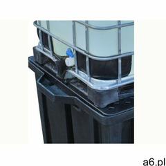 Romold Paleta wychwytowa pod kontener ibc - 1150l czarny powyżej 401 l. z kratownicą 1 pojemnik ibc  - ogłoszenia A6.pl
