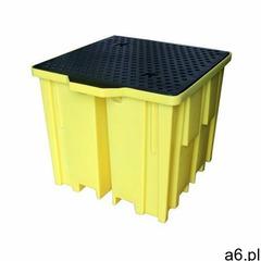 Wanna wychwytowa polietylenowa pod ibc - certyfikat dibt żółty powyżej 401 l. z kratownicą 1 pojemni - ogłoszenia A6.pl
