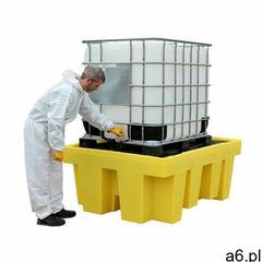 Romold Polietylenowa wanna wychwytowa pod 1 ibc z certyfikatem dibt żółty powyżej 401 l. z kratownic - ogłoszenia A6.pl